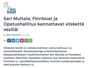 Finnboat uutinen